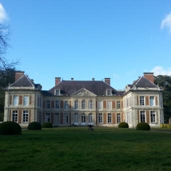 château lamas du parc, Château de Courcelles-sous-Moyencourt