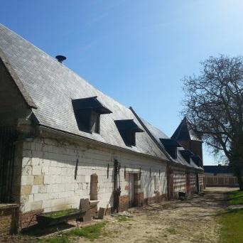 ferme lamas du parc, Château de Courcelles-sous-Moyencourt