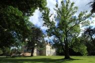 vue depuis l'arboretum Lamas du Parc, Château de Courcelles-sous-Moyencourt