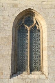 vitraux de l'église Lamas du Parc, Château de Courcelles-sous-Moyencourt