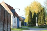 balade dans le village Lamas du Parc, Château de Courcelles-sous-Moyencourt