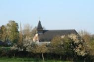 vue du village Lamas du Parc, Château de Courcelles-sous-Moyencourt